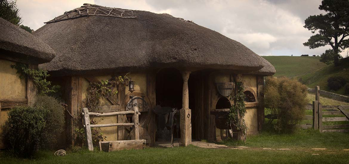 Kuźnia w hobbiton movie set